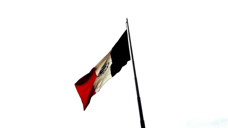 Flag Day Patriotism Sky Outdoors No People Zócalo Mexico The Best
