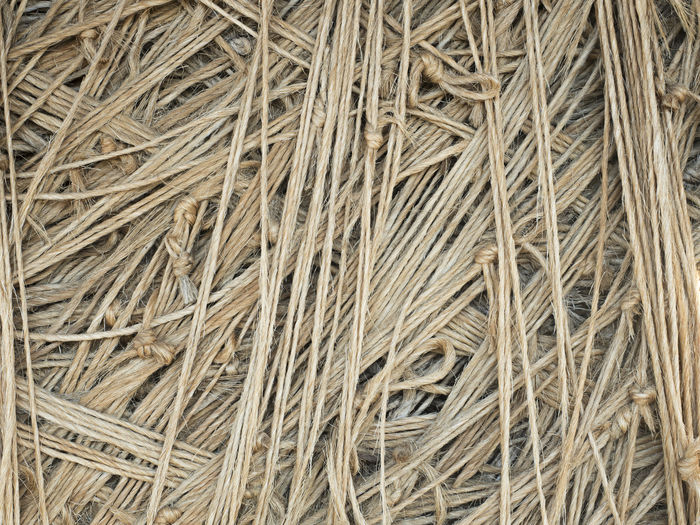 Closeup of a large ball of twine Backgrounds Brown Brown Color Close-up Cord Day Full Frame Hemp Jute No People Outdoors Rough String Texture Textures And Surfaces Twine Twine, Cord, Yarn, Thread, Strand, String Wound