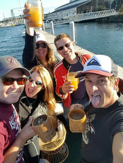Cheers to Fall! Loyalty Boatlife Onaboat Tacoma_WA Loyalty Is Everything Fall Freedom Killing It Yeah!
