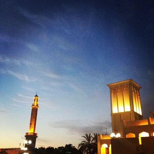 Sunset Dubai Mydubai Hertaige culture