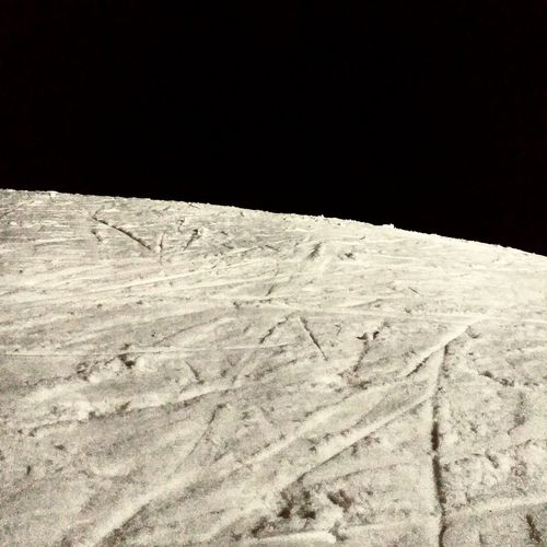 snow and black sky Texture No People Night Ski Abstract Photography Sand Desert Beach Sand Dune Night Landscape Sky Salt - Mineral