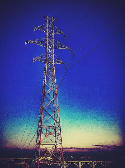 St. Paul Urbanphotography Urban Photography Urban Landscape Urbanscape Cityscapes Powerlines DowntownStP Sunset Afternoon Blues