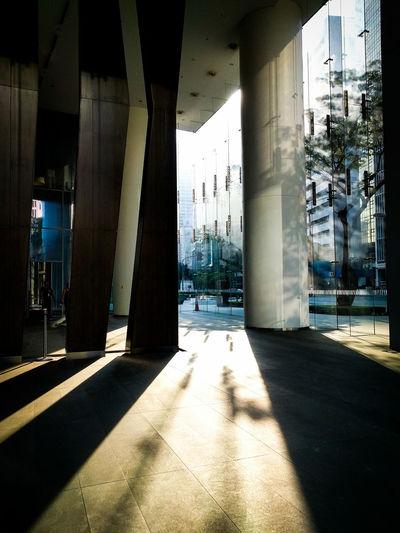 Mobilephotography Light And Shadow Hallway Lobby Afternoon Sun Randomshot Interior Design Blinding Sunlight Sun Rays Golden Hour Darkness And Light