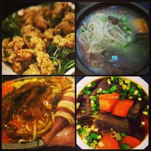 Because its a holiday and rainy day .. its food tour day... Solohista Vutu Masingo TaiwanFoods ChinaTown