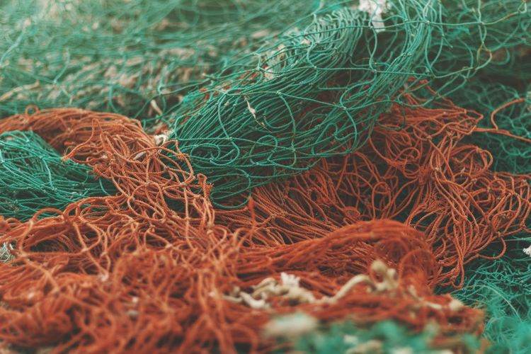 Fishnet Colors Textured  Net EyeEm Best Shots EyeEmNewHere EyeEm Gallery EyeEm Selects Fishing Tackle Fishing Net Fishing Equipment Fishing Industry Close-up Green Color Commercial Fishing Net Netting Fishing HUAWEI Photo Award: After Dark #urbanana: The Urban Playground 2018 In One Photograph Moments Of Happiness It's About The Journey My Best Photo