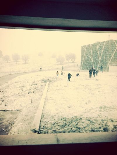 Cbü Manisa Kış Kar Oyun