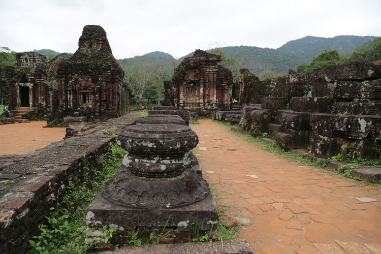 View of old temple
