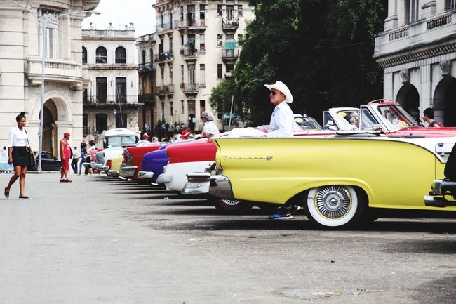 Been There. Car Architecture Building Exterior Transportation Real People Built Structure Men Mode Of Transport Outdoors Day Land Vehicle Large Group Of People Lifestyles Women Full Length City Adult People Adults Only Havana, Cuba Oldtown Oldcity Oldtimers Likeit ♡ Greatshot Adventures In The City This Is Latin America