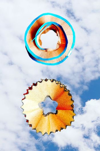Multi Colored Cloud - Sky Sky Blue No People Day