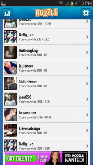 Nobodyyy Hass Been AbLe To Beat Meeee ;pp .. Add Me Thoughh N_marieex3 Letss See Iff Any Of Uu Guys Can ;)