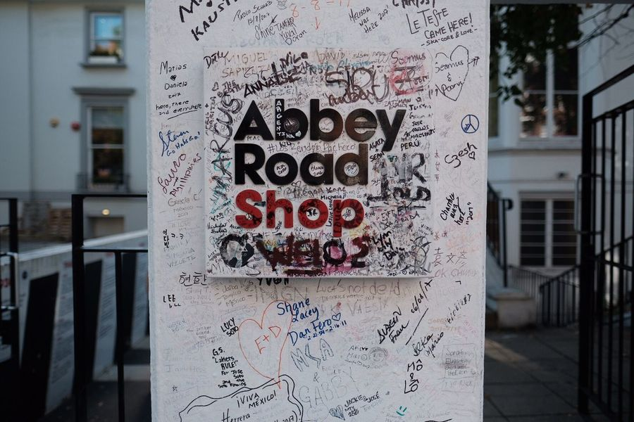 Beatles Abbey Road London No People Music