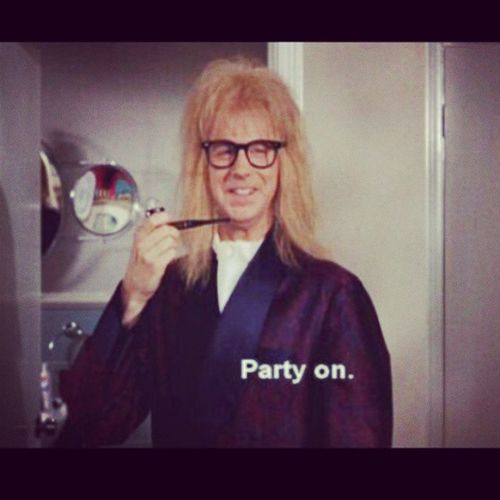 Partyongarth Partyonwayne Schwing Waynesworld partytime excellent
