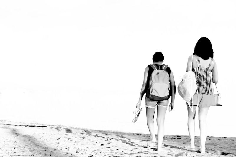 women - mother and daughter walking strong in this world Black And White Street Photography Beautiful Nature Patterns In Nature Landscape_photography Learn & Shoot: Simplicity Capture The Moment Walking Around The City  Beach Photography Getting Inspired EyeEm Best Shots - People + Portrait EyeEm Best Shots - Black + White Urban Geometry Different Perspective Different Is Better . ❤ Shutterspeed Overexposed Barcelona♡♥♡♥♡ The Traveler - 2018 EyeEm Awards