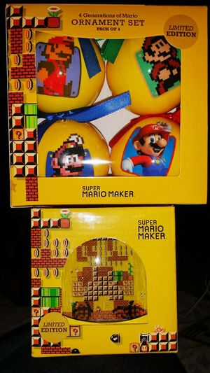 Limited Edition Nintendo Christmas goodies! Nintendo Supermariomaker Supermario Gamestop