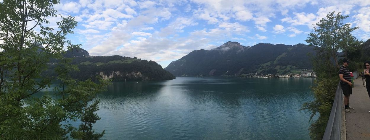 Schweiz Italy Sea