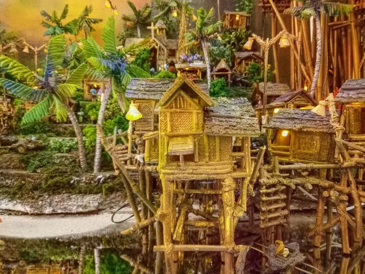 No People Tree Outdoors Nature Water Day Beauty In Nature Architecture Miniature World Huts Coconut Tree