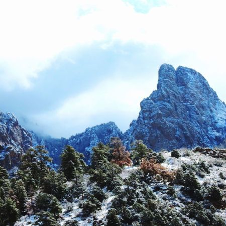 The Great Outdoors With Adobe Light Snow Outdoor Photography High In Mountain Love To Hike Mountains Cloudy