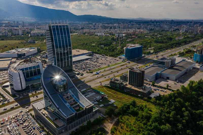 Birds view 2 Amazing View DJI Mavic Pro Mavic2 Mavic2pro Sofia, Bulgaria Aerial View Architecture Building Building Exterior Built Structure Bulgaria City City Life Cityscape Day Drone Photography High Angle View No People Office Building Office Building Exterior Residential District Sky Skyscraper Sofia Sunflare