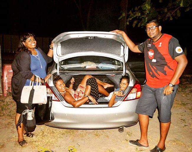 The epic car boot pose Carboot Langkawi Langkawiisland Crazy 6strangerscollide Getaway