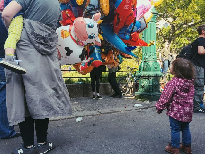 Balloon Childhood Streetphotography Street Photography May Cow The Color Of School