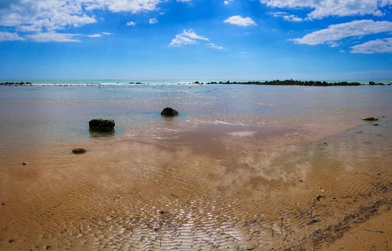 Showcase April Scala Dei Turchi Agrigento Sicily Italy Travel Photography Travel Voyage Traveling Mobile Photography Fine Art Panoramic Views Scenic Landscapes Landscapes With WhiteWall Nature Shorelines Rocks Sea Reflections Water Ripples Sky Clouds Mobile Editing