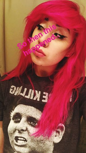 Pinkhair Postiveminded Life Smile