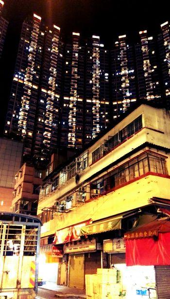 now and then Hong Kong Tsuen Wan Buildings Landscape Urban Landscape Hanging Out