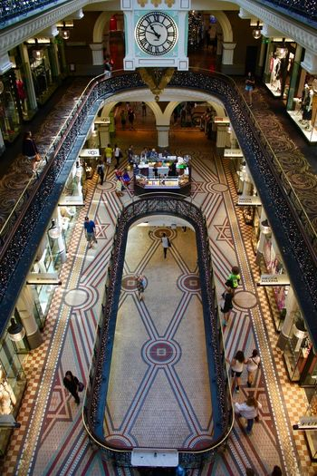 Australia NSW Australia New South Wales  Sydey Architecture Building Built Structure City Queen Victoria Building Shopping Mall Travel