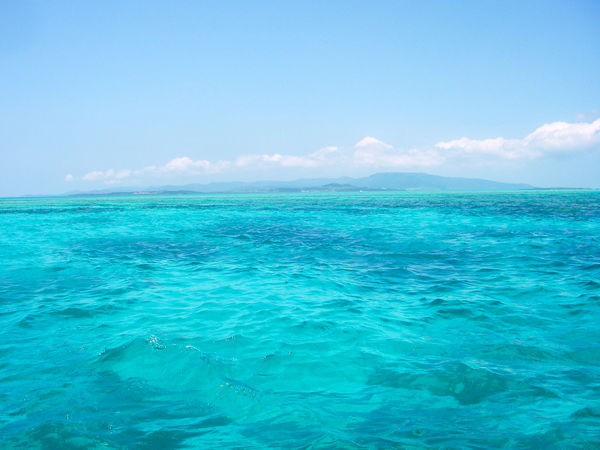 Beauty In Nature Blue Calm TakeoverContrast Idyllic Ishigaki  Majestic Nature Ocean Paradise Rippled Scenics Sea Seascape Sky Tourism Tranquil Scene Tranquility Travel Destinations Turquoise Turquoise Colored Vacations Vibrant Color Water Water Surface