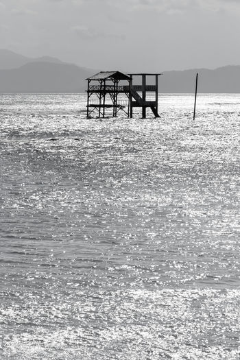 Lake Beach Surf spot watch towers. INDONESIA Old And New Surfing Spot The Week On EyeEm Watch Tower Beauty In Nature Horizon Over Water Lakey Beach Lakey Peak No People Sea Surf Spot Surfing Tranquil Scene Water World Class Pilipina