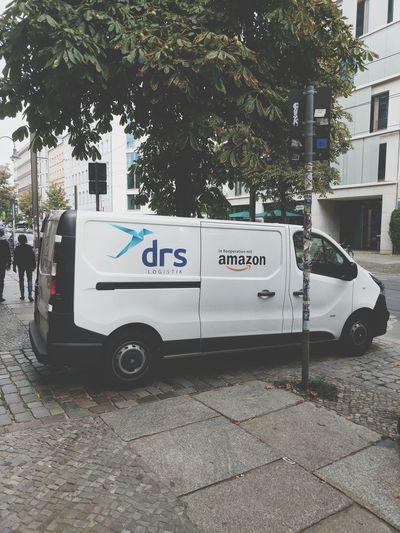 Car Van Logistics Primenow Amazon Lastmile Parcel
