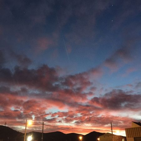 ☁️🌌🔥 panorama Aubagne Sunset Cloud - Sky Sky Dramatic Sky Orange Color Nature Beauty In Nature Scenics No People Low Angle View Outdoors Fuel And Power Generation Tranquility Illuminated Technology Electricity  Architecture Night Windmill Vapor Trail Aubagne Marseille France