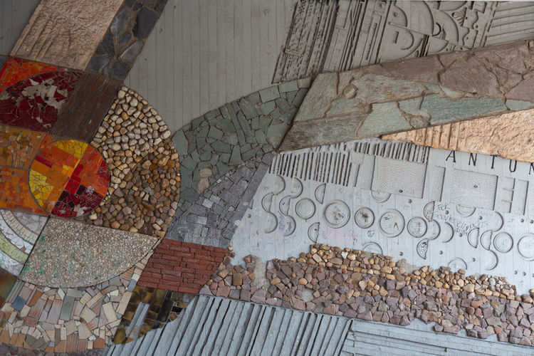 Stone Stone Material Backgrounds Background Full Frame High Angle View Textured  Mosaic Text Close-up Drawing Representation ArtWork Brush Smiley Face Carving Drawn Buddhist Temple Street Art Graffiti Art Architecture And Art Bas Relief Anthropomorphic Face Carpet Doormat Drawing - Art Product Tiled Floor Painted