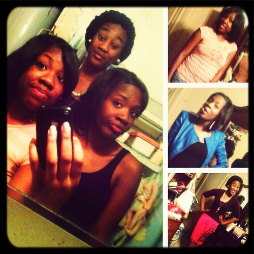 Me and my sisters.!!