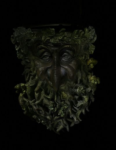 This was a paint with light 10 pluse photos layer after layer a second of this photo with special effects Studio Shot No People Close-up Shelf Wood Man In A Tree Wall Hanging Shelf Paint With Light Layers In Photoshop Painting With Light In Sections