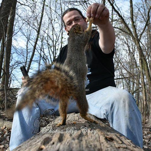 3rd time was the charm 😆 Funwiththesquirrels Wildlifeslefie Squirrelsofinstagram Squirrel