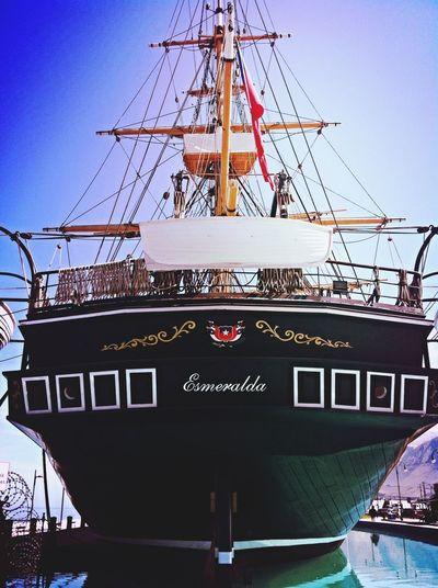 """""""La Esmeralda"""" Ships Sea Seaside Sunshine"""