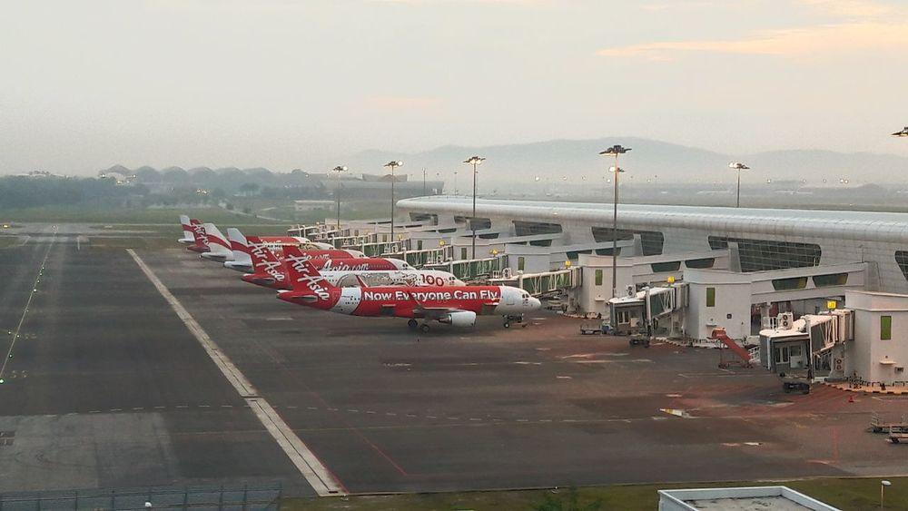 Now everyone can FLY!! Airasia KLIA2 Lcct Airport Kualalumpur Malaysia Malaysia Noweveryonecanfly Morningview