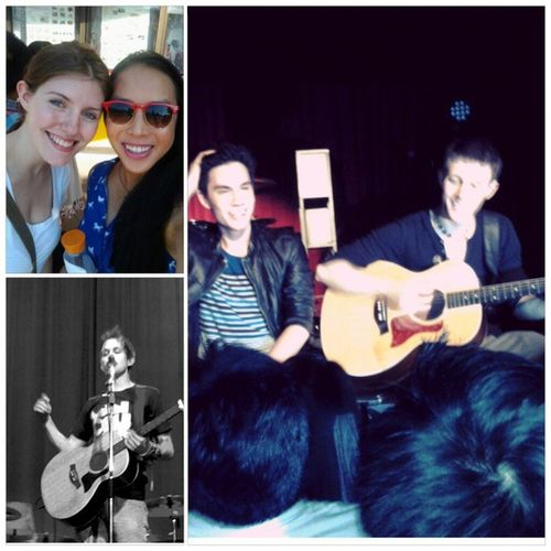 Best night of my life with my favorite people :) Summerwithalexgoot Lukeconard Samtsui Kurthugoschneider concert