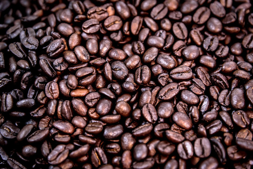 Backgrounds Brown Cappuccino Close-up Coffee - Drink Coffee Bean Coffee Cup Espresso Food And Drink Freshness Full Frame Group Of Objects Indoors  Mocha No People Raw Coffee Bean Roasted Roasted Coffee Bean Scented
