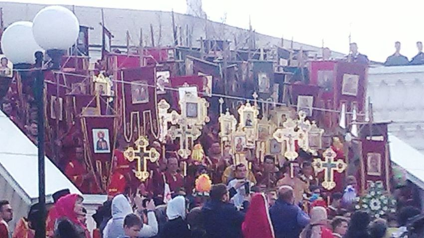 Христос Воскресе!!! Large Group Of People People в кремле