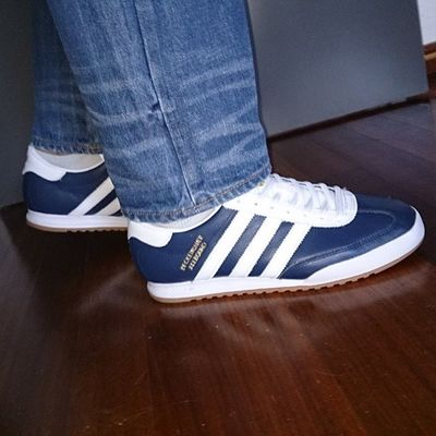 Taking me to the office today Todaystrainers Adidasbeckenbauerallround Adidasoriginals 3Stripes Thebrandwiththethreestripes Adidasramon085 Trefoilonmyfeet Adidas Adi_gallery