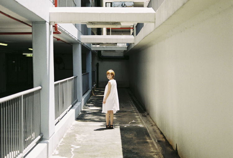 Architecture Building Built Structure Casual Clothing City Life Corridor Day Full Length Leisure Activity Lifestyles The Way Forward