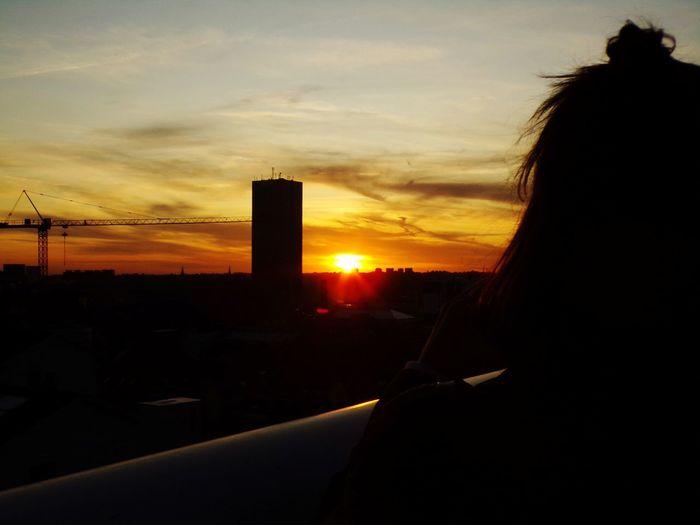 bliss. Sunset