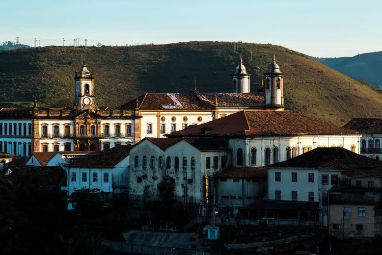 View of church against mountain