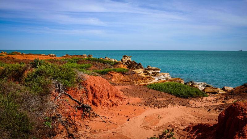 Gantheaume Point coastline, Western Australia Coastline EyeEm Best Shots Rock Formation The Week On EyeEm Western Australia Beach Beauty In Nature Beauty In Nature Blue Sky Day Landscape Nature No People Outdoors Sky Travel Destinations Water