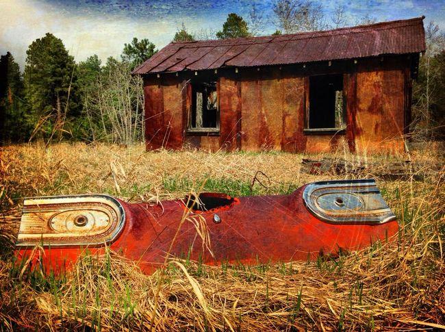 EyeEmbestshot_HDR Classic Car Abandoned Places Taking Photos