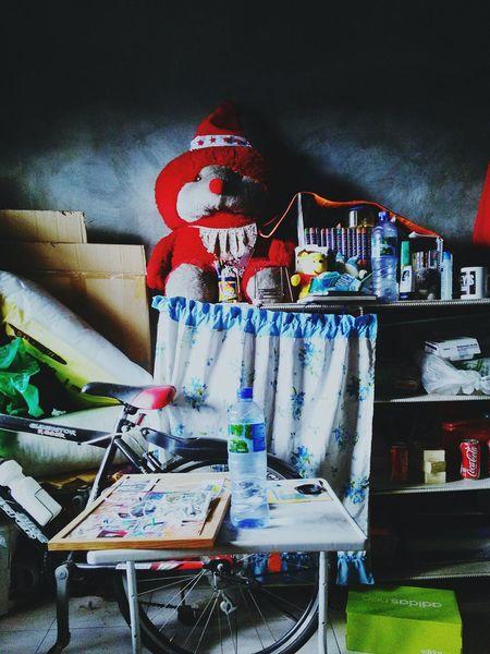 Messy Room. Messy Life. Teddy Bear Room Messy Room Messy Life Anxiety