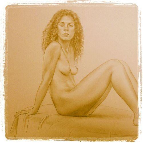 Rinxolada Dibuix Draw Pencil Llapis paper nude nu catalunyaexperience catalunya igerscatalunya intagramers art girl noia line picture