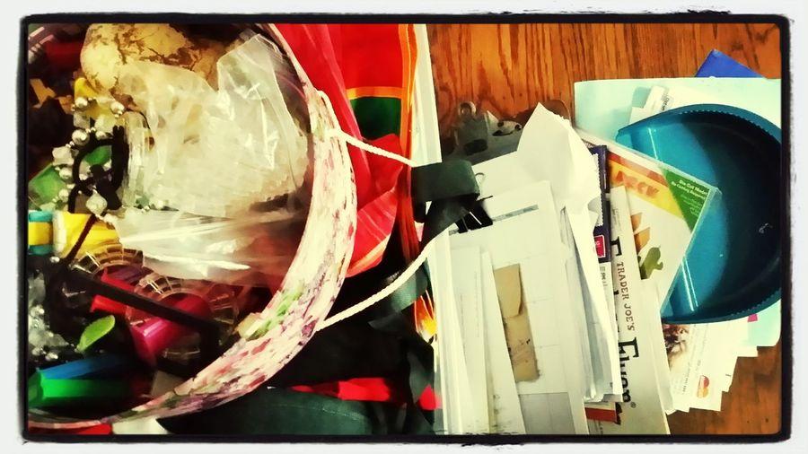 Organising..should be dumping :)
